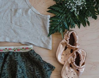 Hipsterlittles Layered Lace Skirt- Olive / baby skirt/ toddler skirt/ boho baby skirt / boho baby dress/ lace skirt / boho baby clothes