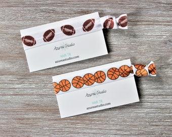 Football-Basketball-Hair Tie