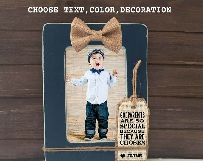 Godparents Picture Frame  giftsvctcom