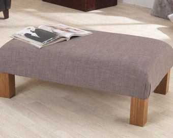 3ft Jacobs Linen Footstool/Coffee Table