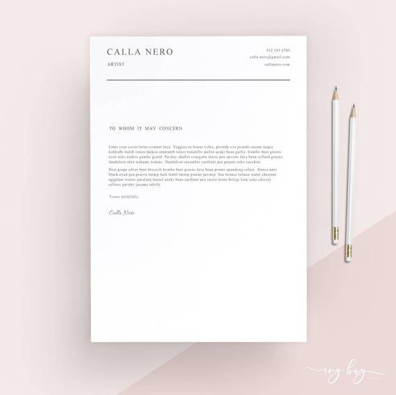 te gusta este artculo - Cover Letter Letterhead