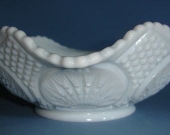 Vintage Large Milk Glass Bowl
