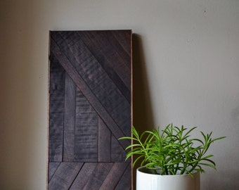 walnut wall decor