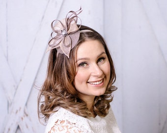 Headband Fascinator royal has bridal Hat bridal hair jewelry wedding wedding bridal has Z11