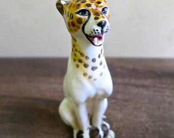 Royal Hickman Royal Haeger Pottery Cheetah Figurine