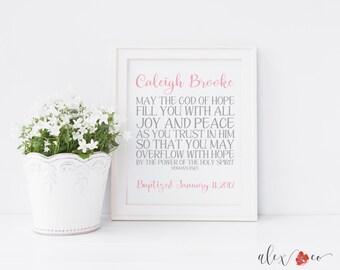 Baptism Printable. Baptism Print. Baptism Gift Girl. Baptism Gifts for Girls. Baby Baptism Gift. Baby Dedication Gift. Girl Baptism Gifts.