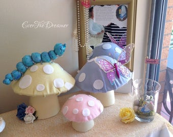 Alice in Wonderland blue caterpillar Absolem handmade Alice in wonderland decor