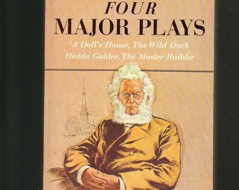 Henrik Ibsen: Four Major Plays. 1966 Airmont Paperback In Very Good Condition. Rare Edition, Collectable. See Contents.