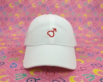 Sailor Mars Symbol Cap