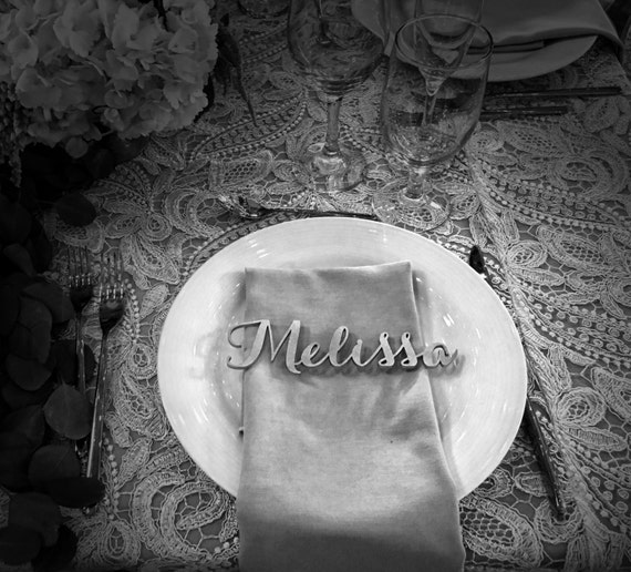 Place Card, Name Place Card, Laser Cut Names, Guest Names, Guest Seating, Guest Setting, Place Card, Wedding Decorations, Escort Card
