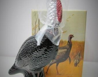 Avon Wild Turkey Decanter Deep Woods Aftershave - NIB