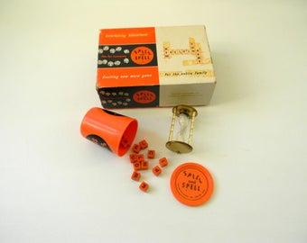Vintage 1959 Spill & Spell Game