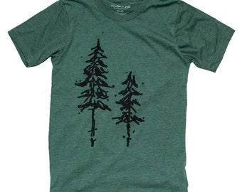 Pine Trees Mens Tee