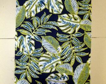 Hawaiian patterned fabric remnants
