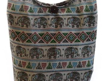 Hobo bag, Boho bag, Elephant bag, Hippie sling, Hippy bag,  Thai bag ,Hippie, Gypsy Sling,  Hobo, Crossbody
