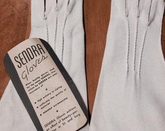 Vintage 1950s Sendra Gloves NEVER WORN