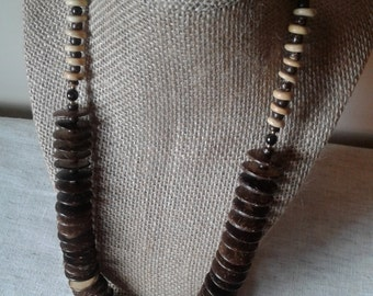 Vintage Coconut Necklace