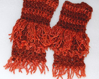 Fringe Gloves Etsy