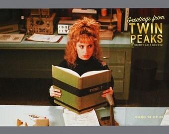 Twin Peaks Gold Box Postcard Card # 14 of 61 Kimmy Robertson as Lucy Moran
