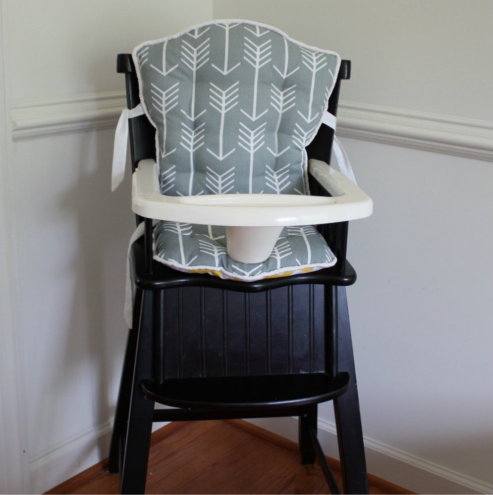 gray tribal arrow eddie bauer high chair replacement pads