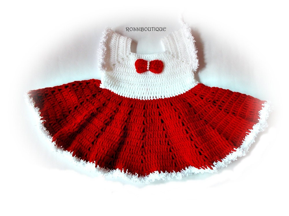 baby christmas dress crochet baby dress christmas baby dresses crochet baby red