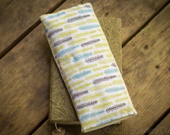 Organic Eye Pillow: w/ Lavender & Clary Sage. Yoga Essentials. Little Forest + Cream.