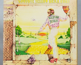 Elton John - Goodbye Yellow Brick Road Album MCA Records 1973 Original Vintage Vinyl Classic Rock Pop Record LP
