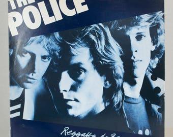 The Police Regatta De Blanc 1979 Pop Rock A&M Records Original Vintage Vinyl Record Album LP