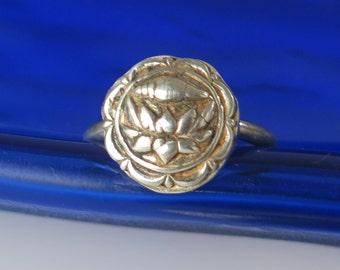Fine Silver Love Spirit Ring, Symbol of Freedom Ring, Symbol of Peace Ring, Fine Silver Gift of Love Ring, Petite Silver Pinkie  Ring Gift