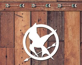Mockingjay Decal | Yeti Decal | Yeti Sticker | Tumbler Decal | Car Decal | Vinyl Decal