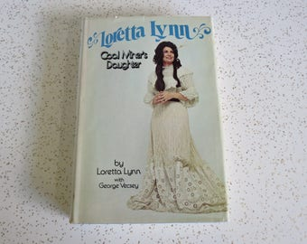 Coal Miner's Daughter by Loretta Lynn with George Vecsey Vintage 1976 Biography BCE HC w/ DJ