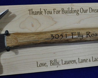 Gift For Home Builder Contractor Gift Realtor Gift Gift For Construction Worker