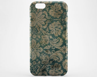 Flower iPhone Case Style iPhone 7 Floral Green iPhone 6 Case iPhone 7 Plus Case Galaxy Case iPhone 6 Plus Case iPhone SE Case iPhone 4-5