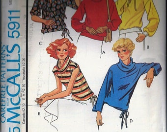 Vintage Sewing Pattern - McCall's #5911, Size Medium (14-16)