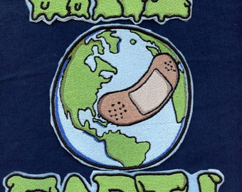 SAVE EARTH patch kits
