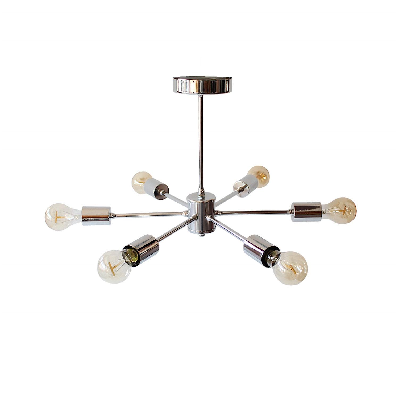 Gold Modern Chandelier Light Swag Cluster Lighting Globe