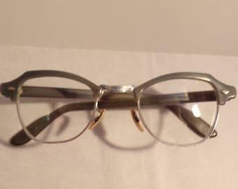 Vintage Eye Glasses - Bausch & Lomb 1950's
