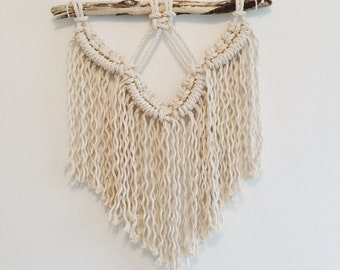 Modern Macramé Wall Hanging | Small - Medium