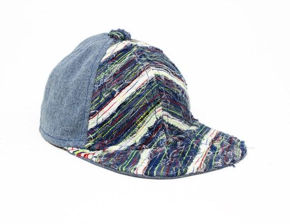 baseball cap upcycled - triangle
