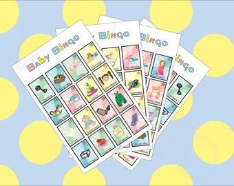 Baby Shower Bingo, La Loteria Bebe , (English edition)