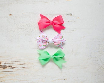 Bows for Babies | Hair Bows for Toddlers | Hair Bow Clip | Small Hair Bow | Little Hair Bow | Baby Girl Bows | Clips for Toddlers and Babies