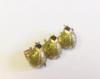 Vintage, bug, beetle or insect brooch.