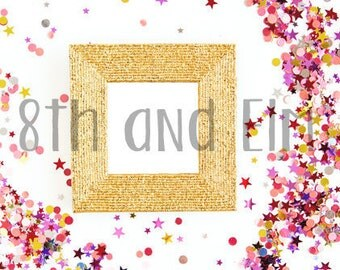 Glitter Styled Stock Photo | Product Photography | Digital Image | Glitter and Sequins Product Image