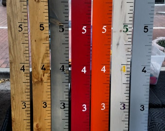 Personalized Growth Chart Rulers