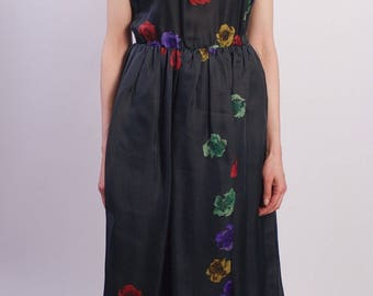 Christian Dior Vintage Silk Gown from 1978
