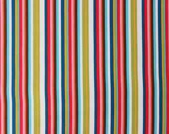 Soul Garden by Carolyn Gavin for PB Textiles - Soulful Stripe Multi - Sold by the yard