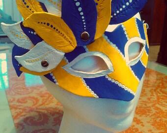 LSU Leather Mask