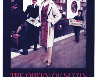 Vintage Queen of Scots Pullman Service Railway Poster A3/A2/A1 Print