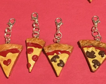 Lil' Slice of Heaven Pizza Charm