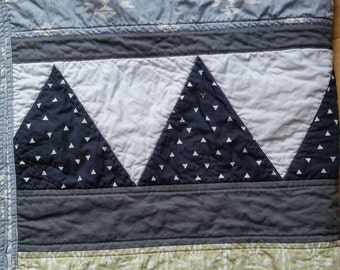 Tribal quilt | Southwest | Aztec | baby boy quilt | child quilt | adult quilt | modern | throw | baby gift